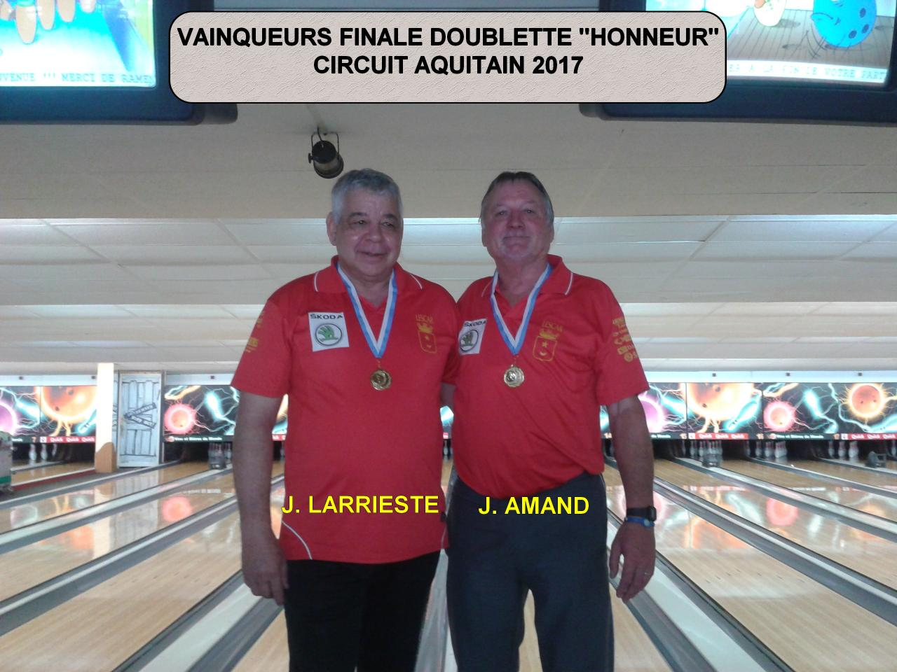 bowling fédération française