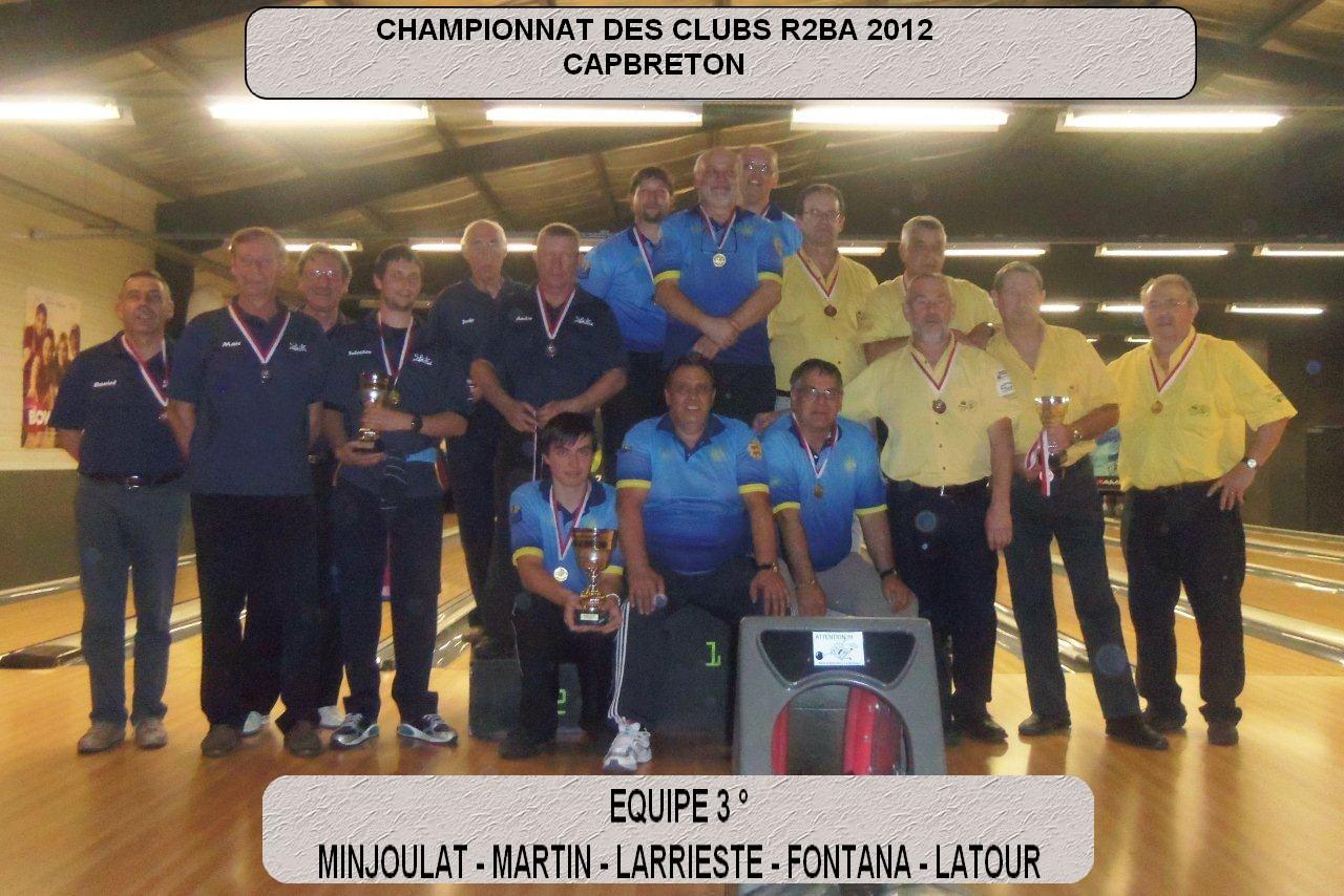 Championnat des clubs R2AH 2012