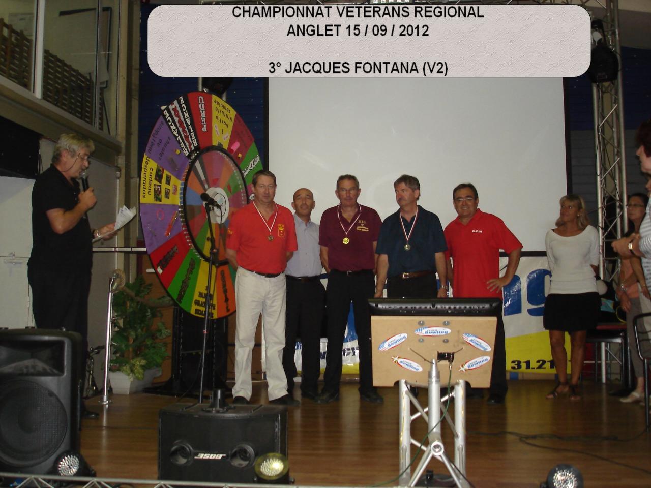 Championnat régional vétérans  H 2012