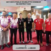 24/11/2019DOUBLETTE HONNEUR FINALE NA DISTRICT SUD