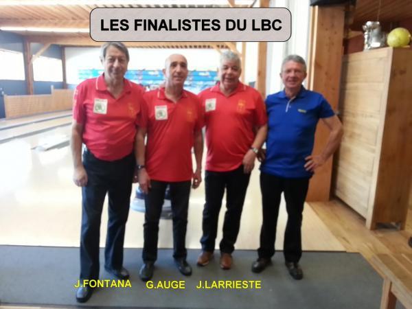 finalistes du LBC LANNEMEZAN 02/2017
