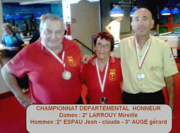 honneur départemental