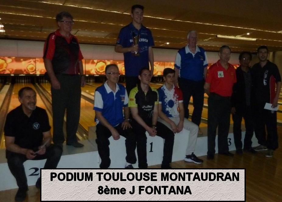 PODIUM TOULOUSE MONTAUDRAN