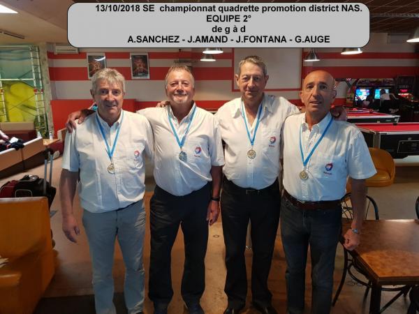 03/10/2018 CHAMPIONNAT SE QUADRETTE AGEN