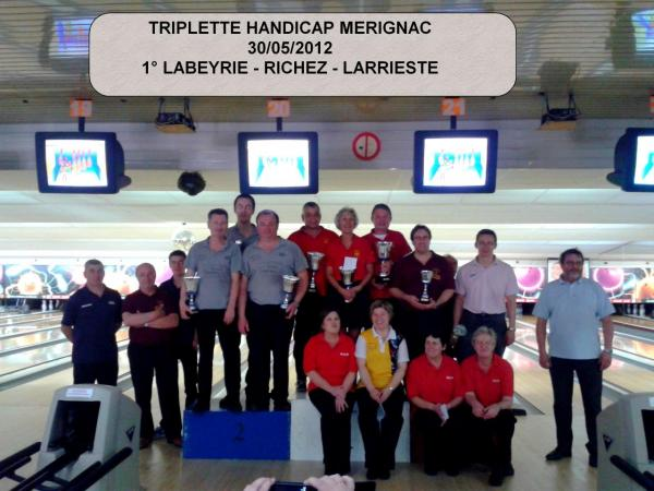 Triplette MERIGNAC 2012