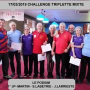 17/03/2019 TRIPLETTE MIXTE DEPARTEMENTALE