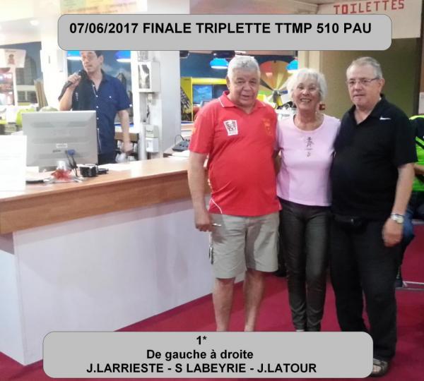 VAINQUEURS TTMP PAU