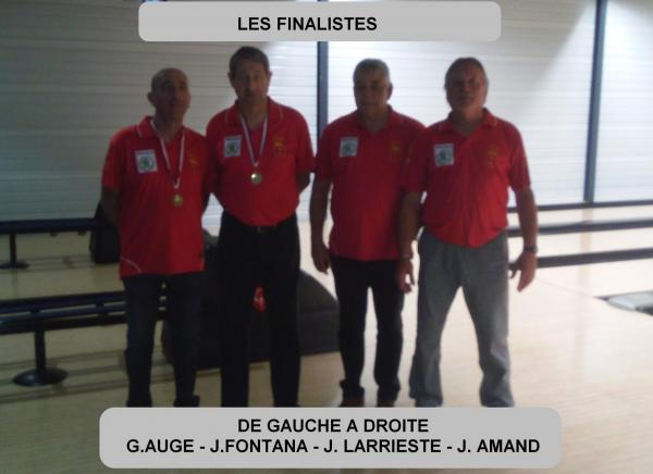 Finalistes doublette honneur