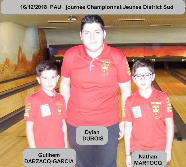 Journee championnat jeunes