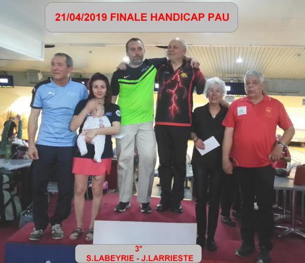 Podium finale handicap 2